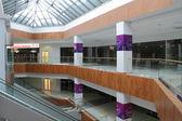 Hall with columns — Stock Photo