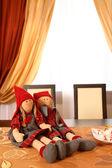Two dolls — Stock Photo