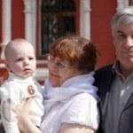 Grandparents and child — Stock Photo #10484344