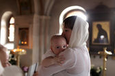 Christening — Stock Photo