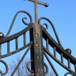 Stock Photo: Fence of ZnamenskayChurch