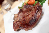 T-bone steak on plate — Foto Stock