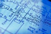 Electronics schematic — Stock Photo