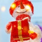 Funny snowman — Stock Photo #8694817