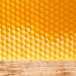 Fresh honey in comb — Stockfoto #8696237
