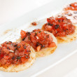 Stock Photo: Appetizers with tomatoes