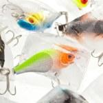 Fishing lures — Stock Photo