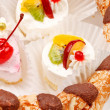 Stock Photo: Different kinds of dessert