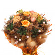 Stock Photo: Bouquet of beautiful flowers
