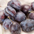 Stock Photo: Fresh plums