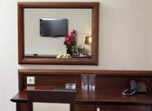 интерьер современного удобного гостиничного номера — Стоковое фото