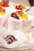 Smakelijke gebakjes — Stockfoto