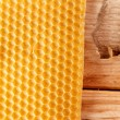 Fresh honey in comb — Stock fotografie #8725179