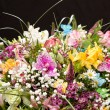 Bouquet of colorful flowers — Stock Photo #8726580