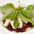 Salad with beet and basil — Foto Stock