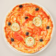 Italian pizza — Stockfoto