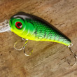 Stock Photo: Fishing lure