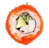 Sushi on the white — Stock Photo