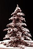 čokoládové vánoční strom — Stock fotografie