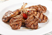 Grilled meat ribs — Stock Photo
