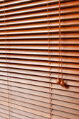 Wood Blinds — Stock Photo