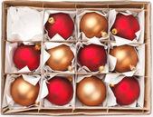 Palle di Natale — Foto Stock