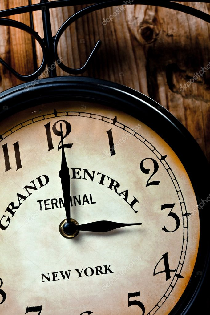 Clock of grand central station — Stock Photo #8721695