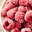 Frozen raspberries — Stock Photo #8785627