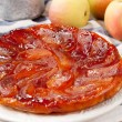 Stock Photo: Tarte Tatin with apples