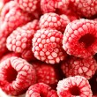 Frozen raspberries — Stock Photo #8785860