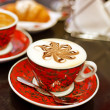 Stock Photo: Cappuccino cup