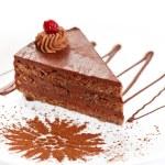 Chocolate cake — Stock Photo #8789309