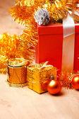 Christmas presents — Stock Photo