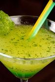 Cocktail with kiwi — Stock Photo