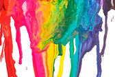 Paint dripping — Foto de Stock