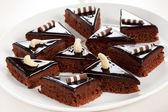 Chocolate pastries — Stock Photo