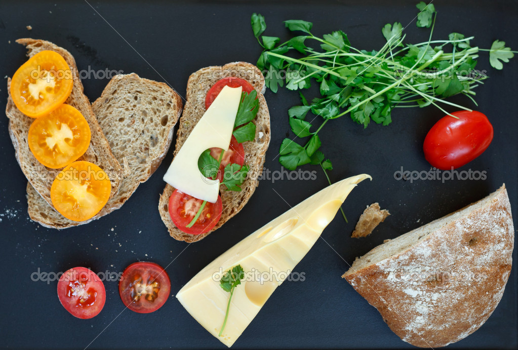 Food for breakfast — Stock Photo #8784401