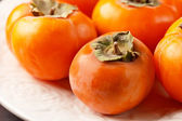 Persimmon fruits — Stock Photo