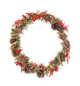 Christmas garland — Foto Stock
