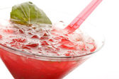 Strawberry cocktail — Stock Photo