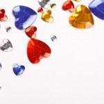 Color hearts — Stock Photo