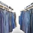 Stock Photo: Jeans shop