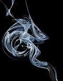 Cigarette smoke — Stock Photo