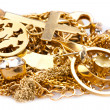 Scrap Gold - Stock Photo