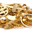 Scrap Gold — Stock Photo