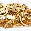 Scrap Gold — Stock Photo #8894856