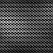 Perforated metal background — Stock Photo