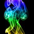 Multi colored smoke - Stock Photo