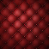 Genuine red leather texture — Stock Photo
