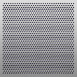 Perforated plastic background — Foto Stock